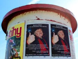 Koncert k 70. narodeninám Jozefa Barinu v Bratislave