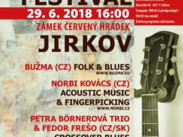 13. ročník festivalu Roots & Blues Festival 2018 se uskuteční v Jirkově