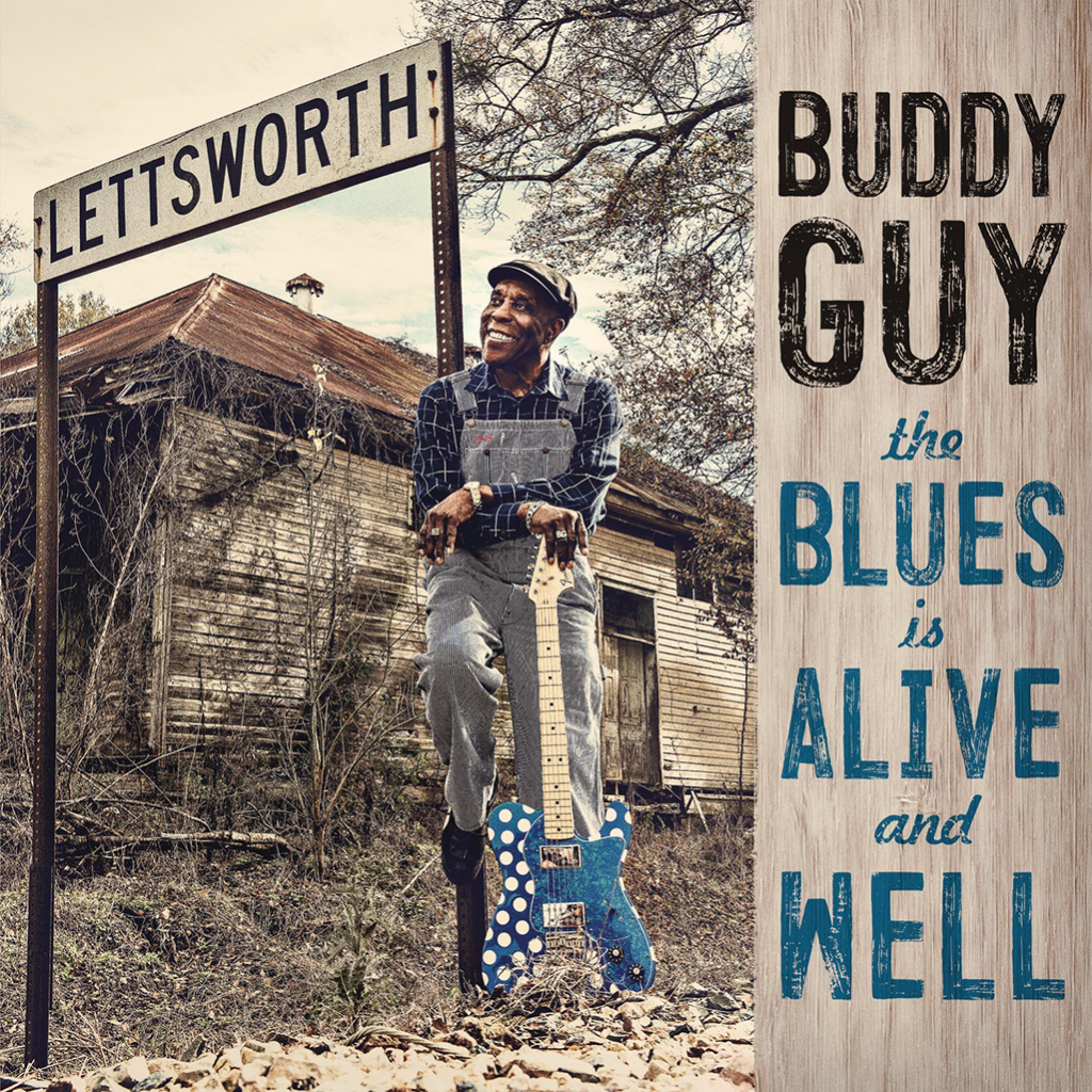 Buddy Guy nahral nový album  The Blues Is Alive and Well