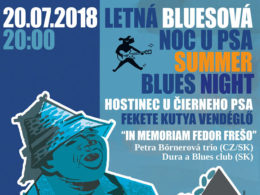 Letná bluesová noc u psa sa uskutoční v Hostinci u Čierneho Psa v Komárne
