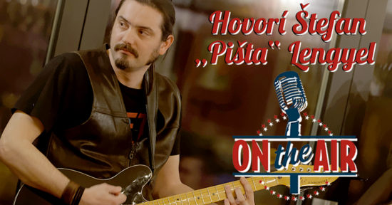"Rozhovor Štefan ""Pišta"" Lengyel, slovenský gitarista"