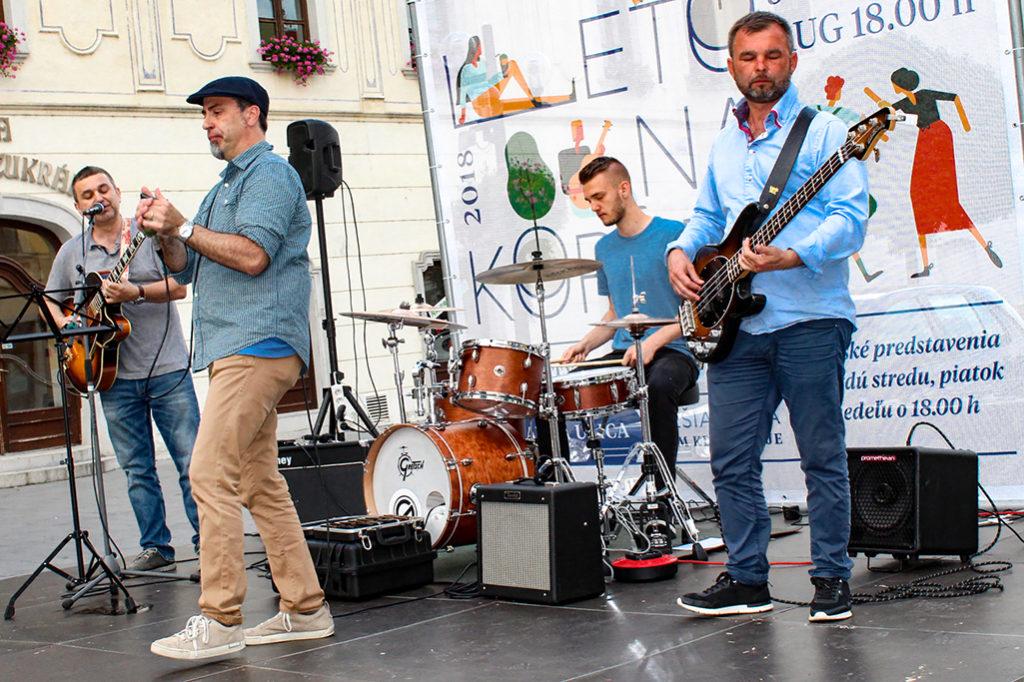 Koncert kapely Second Band Leto na Korze 2018 v Trnave