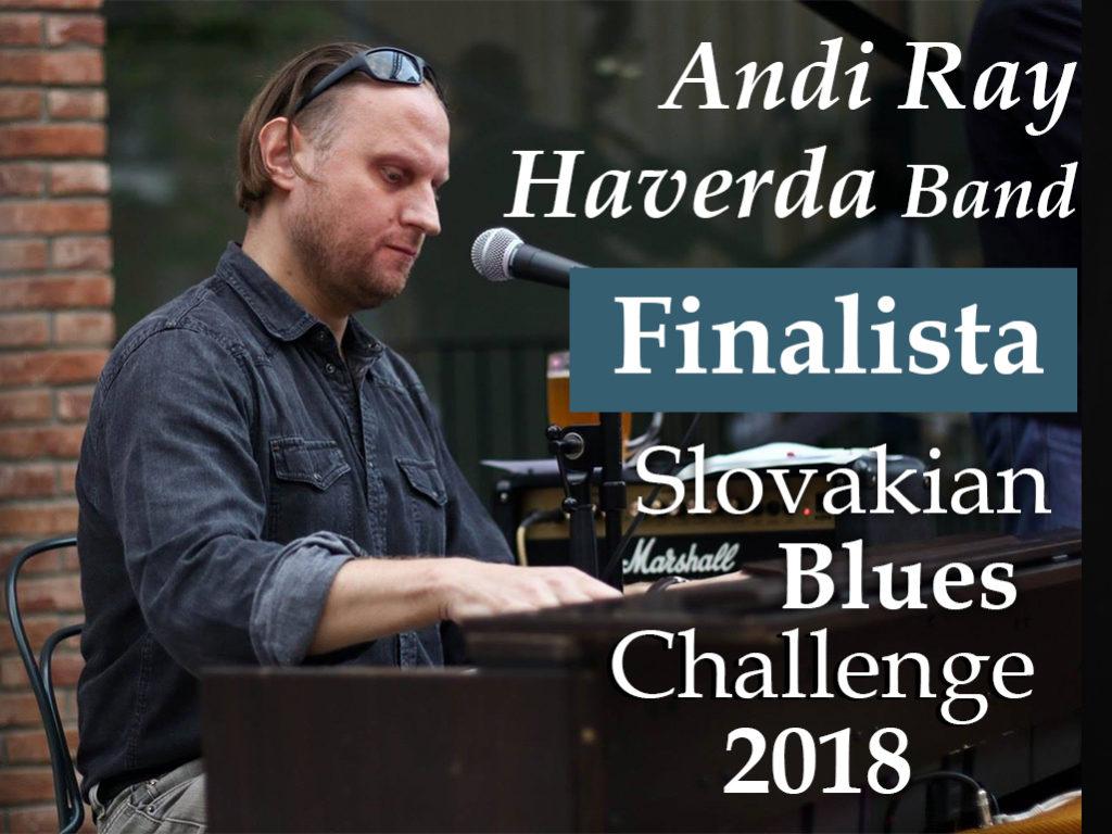 Andi Ray Haverda Band finalista súťaže Slovakian Blues Challenge 2018