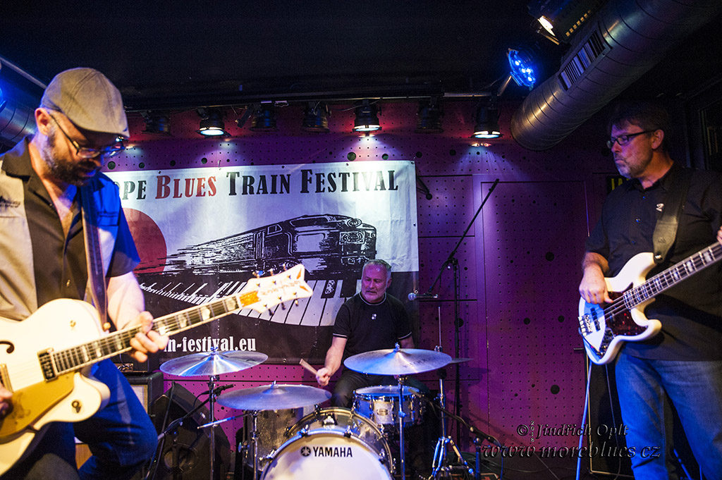 Festival European Blues Train 2018 přijel do klubu Jazz Dock v Praze