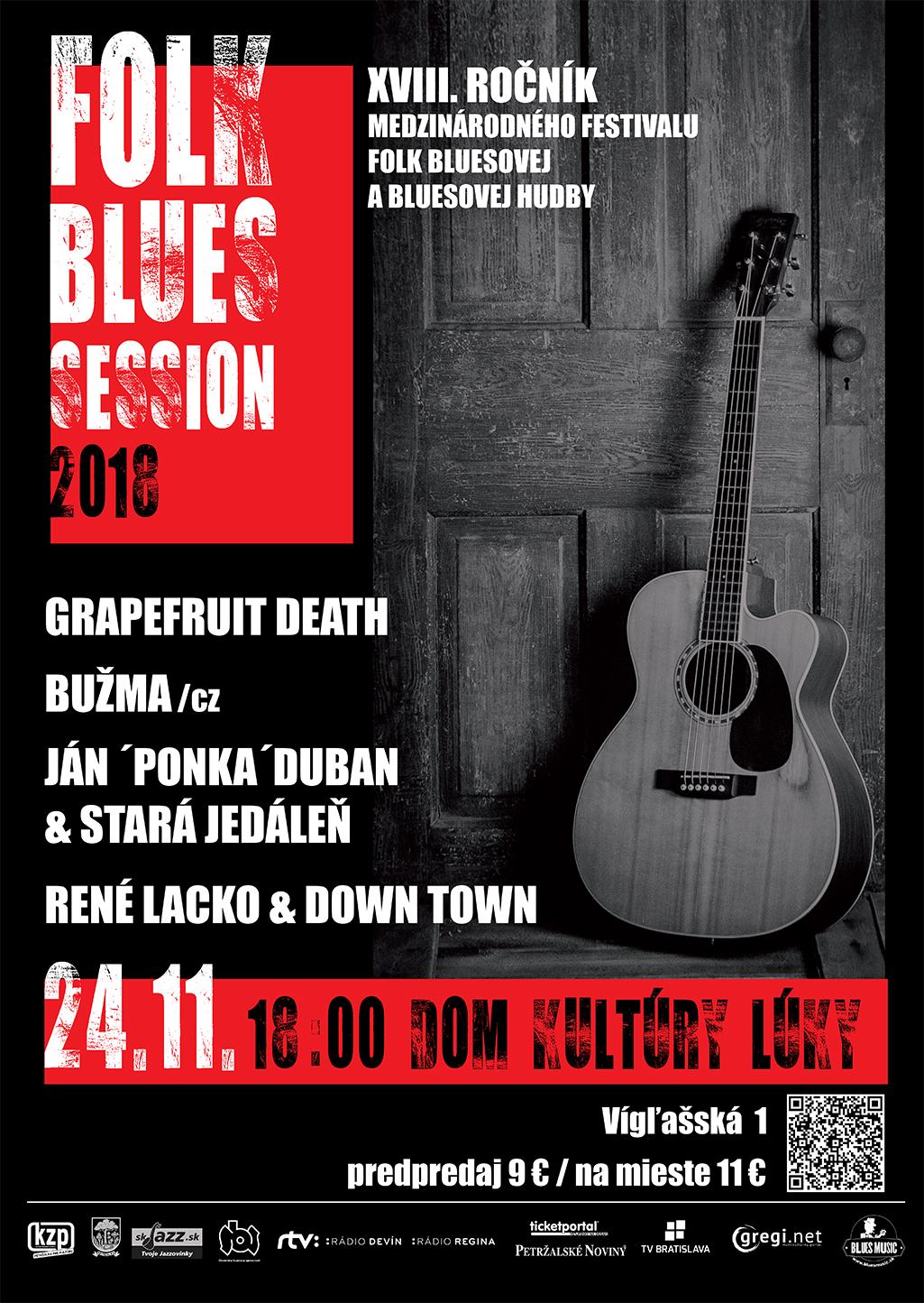 b6e339e94 Festival Folk Blues Session 2018 v Bratislave | Blues Music