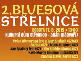2. ročník festivalu Bluesová Střelnice 2019 Kadaň