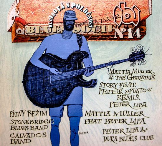 Sampler Bluesovej spoločnosti No. 14