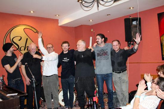 Bratislavske jam-sessions Fedora Freša Kafe Scherz Bratislava