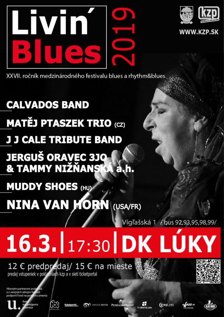 XXVII. ročník Livin Blues 2019 medzinárodného festivalu blues a rhythm & blues