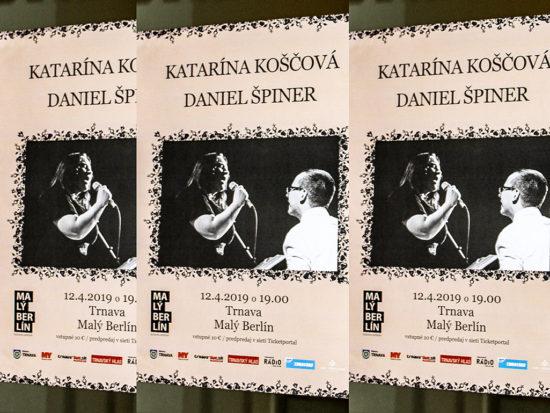 Koncert Kataríny Koščovej a Daniela Špinera v Trnave