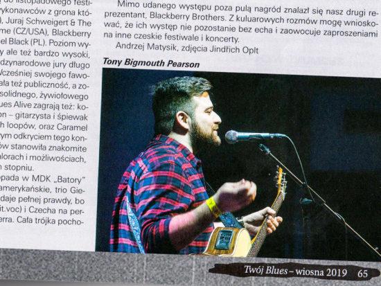 Časopis Twój Blues a úspech slovenských bluesmenov v Poľsku
