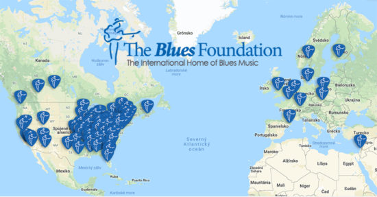 Slovensko na mape svetového blues