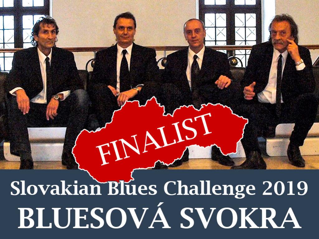 Bluesova Svokra Slovakian Blues Challenge 2019