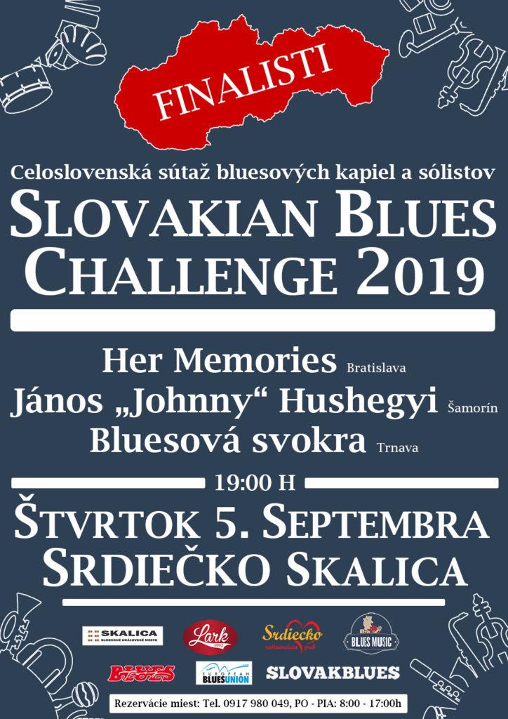 Slovakian Blues Challenge 2019 Skalica