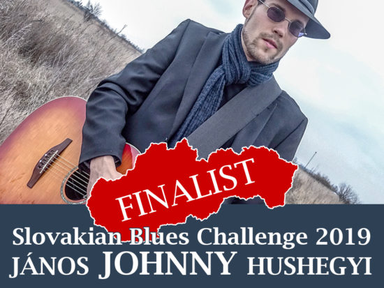 János Johnny Hushegyi Slovakian Blues Challenge 2019