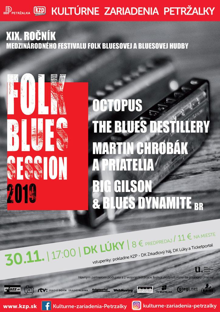 Festival Folk Blues Session 2019 DK Lúky Bratislava