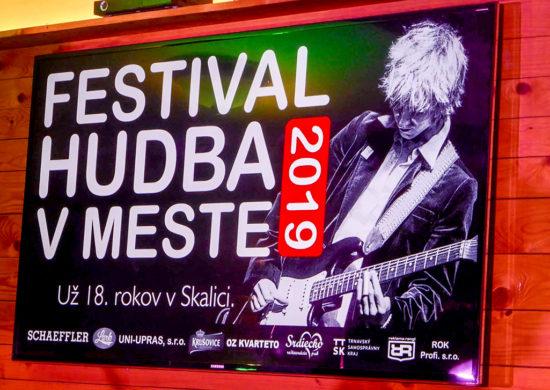 Festival Hudba v Meste 2019 Skalica