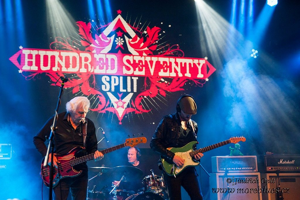 Hundred Seventy Split v Lucerna Music Baru