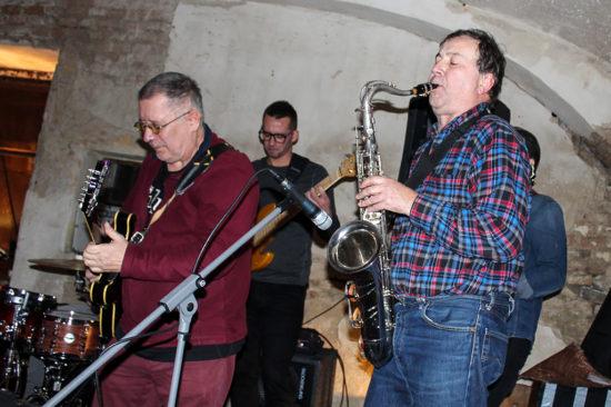 Koncert kapely Bluesweiser v Trnave