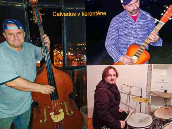 Rozhovor o hudbe a pandémii Calvados Band