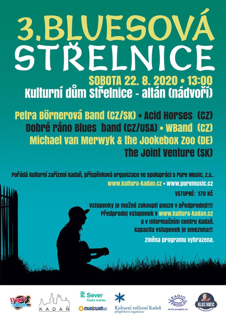 Medzinárodní festival Bluesová Střelnice 2020 se uskuteční v prostorách Kulturního domu Střelnice v Kadani