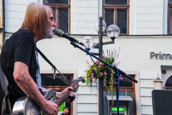 Ľuboš Beňa & Bonzo Radványi na Korze v Trnave