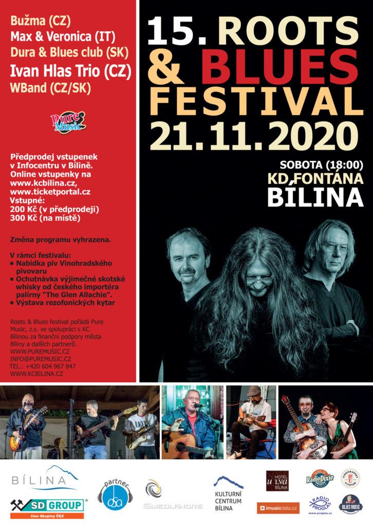 15. Roots & Blues Festival 2020 Bílina
