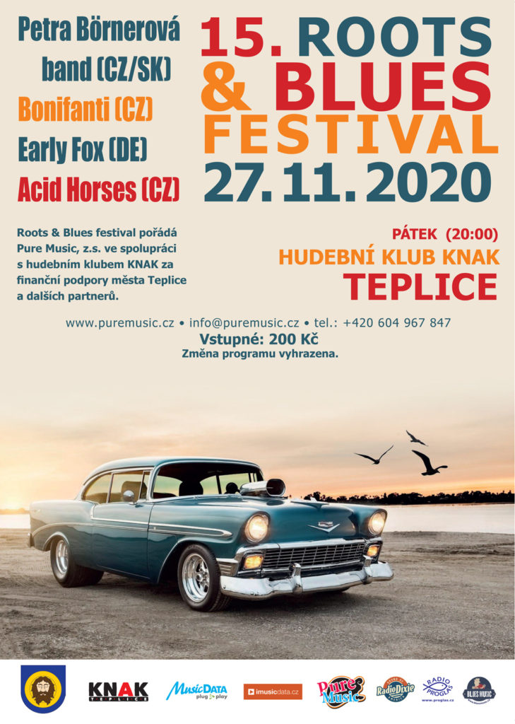 15. Roots & Blues Festival 2020 Teplice