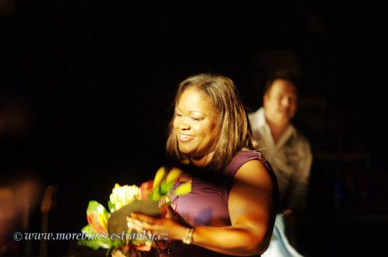 Spomienka na koncert Shemekie Copeland