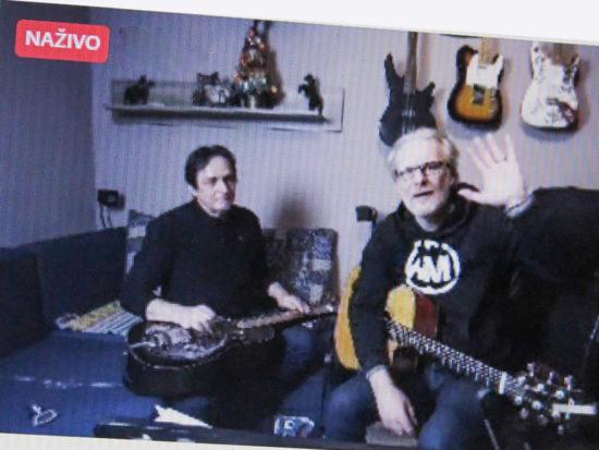 Allan Mikušek & Henrich Novák koncert z obývačky