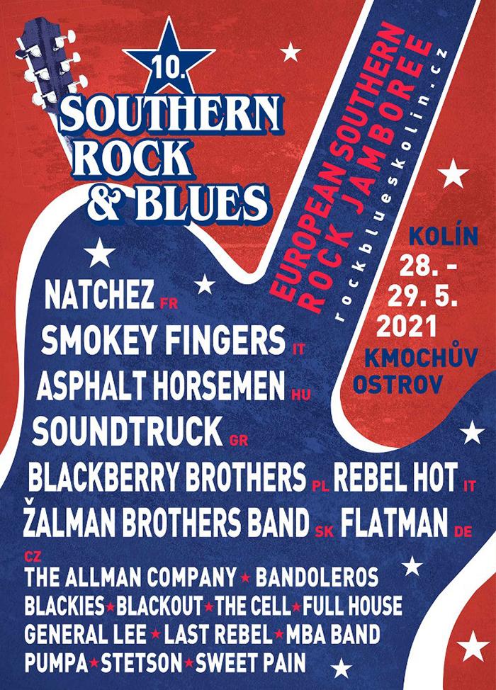 Festival Southern Rock & Blues 2021 Kolín