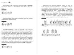 Kniha a učebnica hry na gitaru.