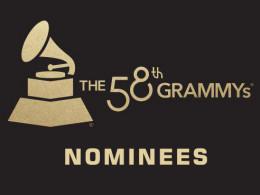 Grammy 2016 Nominees