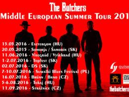 Kapela The Butchers vyráža za hranice Slovenska.