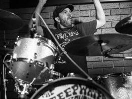 Kapela The Steepwater Band zahrála v Olomouci v Bounty Rock Cafe 2016.