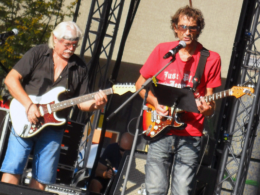 Koncert The Blues Mother-In-Law a Willie Jones Band na jarmoku v Trnave.