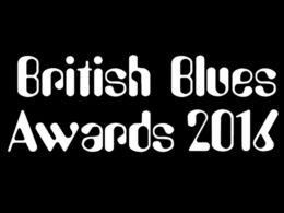 British Blues Awards 2016.