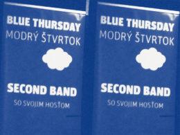 Modrý štvrtok v Music a Café v Trnave. Koncert kapely Second Band a Silvie Josifoskej.