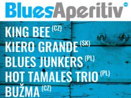Finalisti medzinárodnej súťaže Blues Aperitiv 2017 Šumperk
