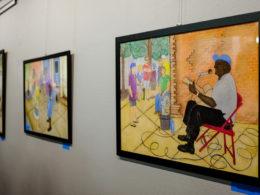 Výstava bluesových obrazov v Poľsku od Danuta Matysik