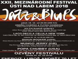 Medzinárodní festival Jazz & Blues Ústí nad Labem 2018