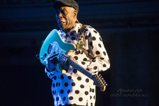 Buddy Guy koncertoval v pražskej Lucerne v Prahe