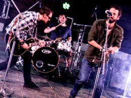 Koncert kapely Beans & Bullets v Trnave
