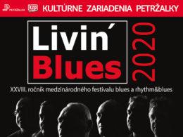 Festival Livin Blues 2020 DK Lúky Bratislava