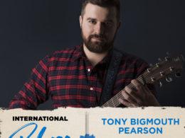 Tony Bigmouth Pearson na International Blues Challenge 2020 v Memphise