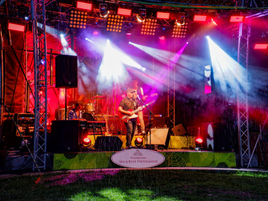 Séria letných koncertov Music in the Park