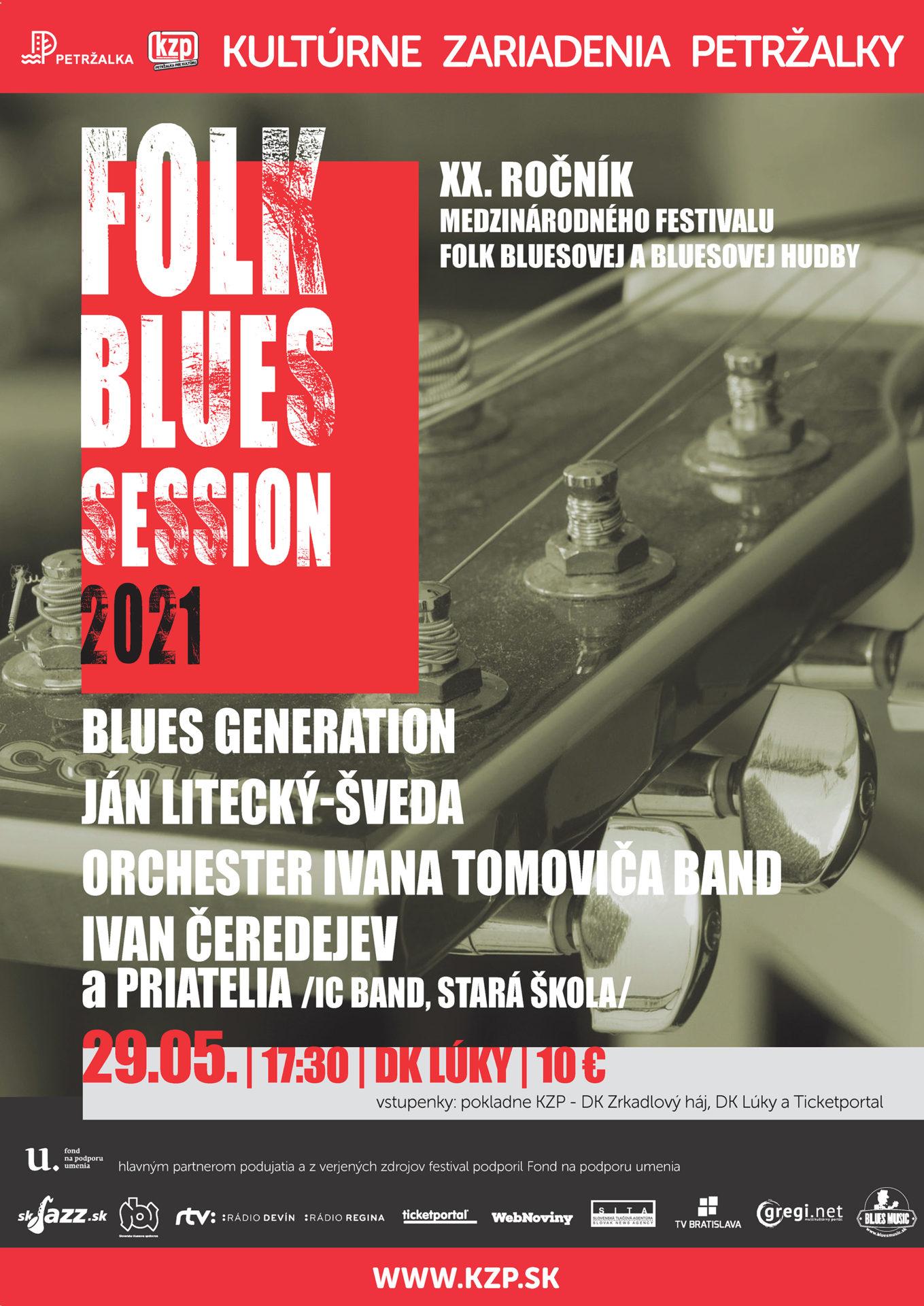 Festival Folk Blues Session 2021 DK Lúky Bratislava