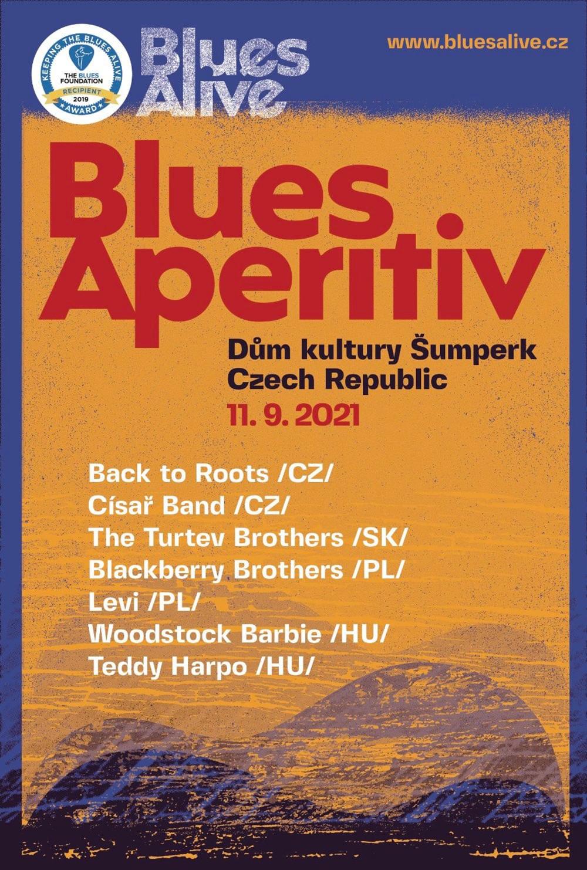 Blues Aperitiv 2021 Šumperk