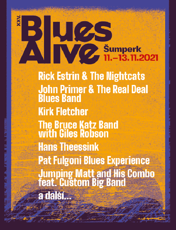 Festival Blues Alive 2021 Šumperk