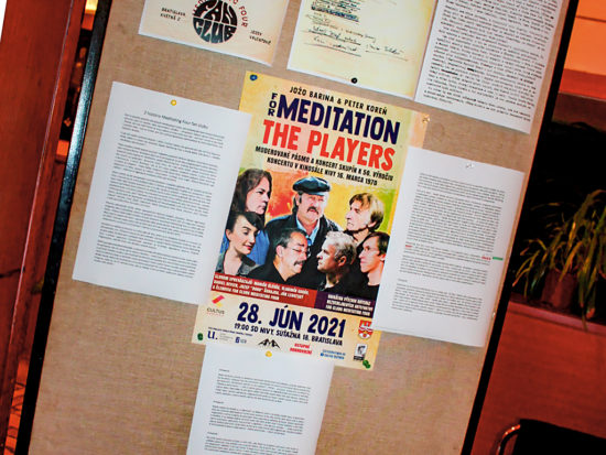 For Meditation a The Players 21 v Bratislave